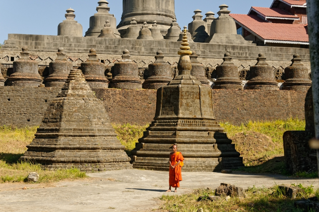 temple de Mrauk U Birmanie
