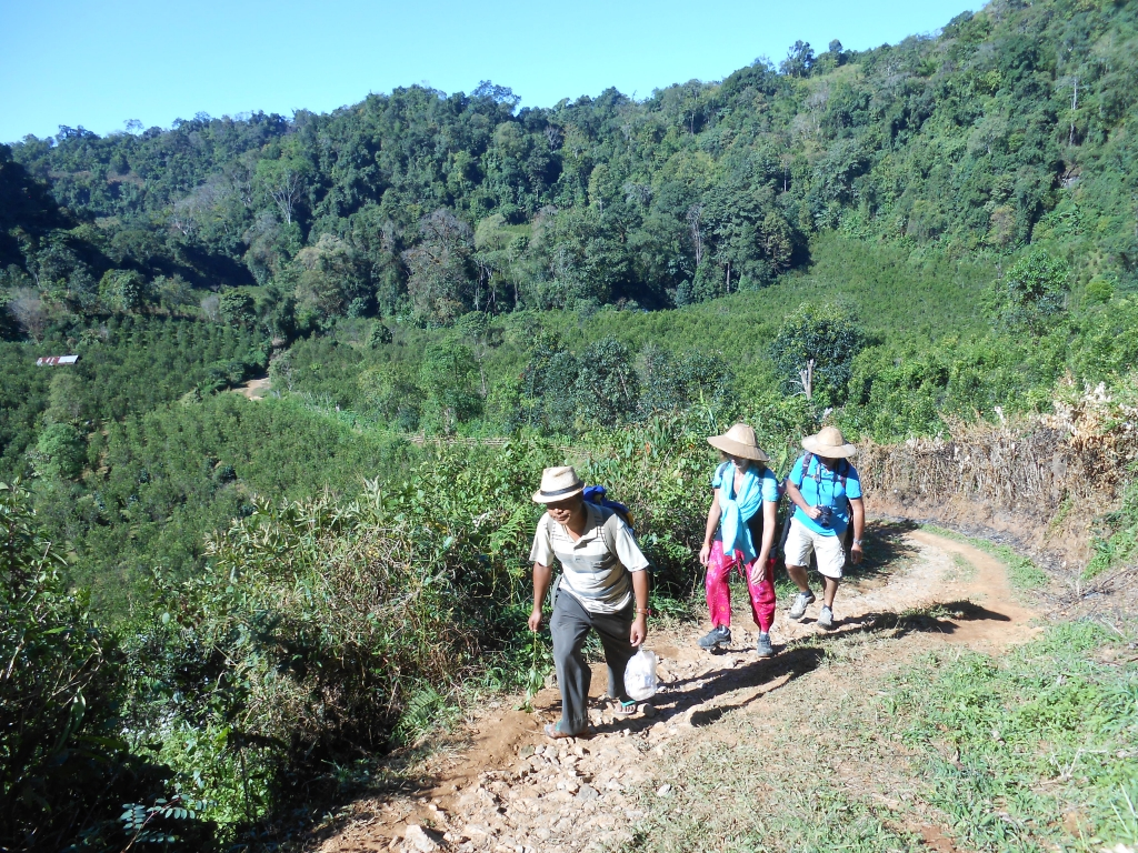 Rando Pindaya Etat shan Birmanie