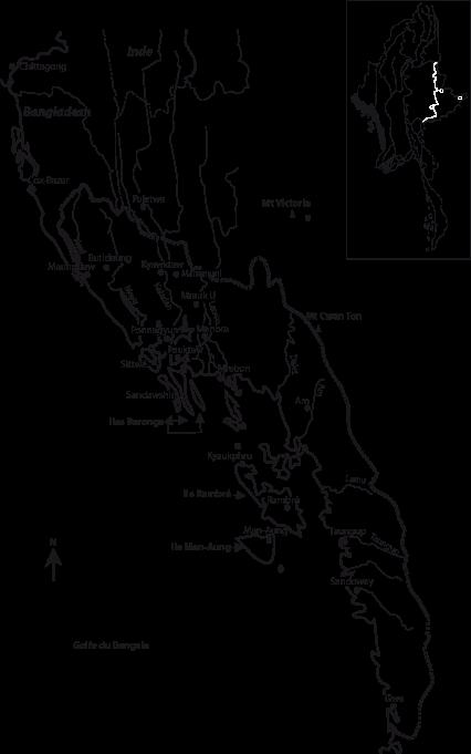carte de l'Arakan